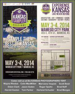 Photographer Scott Bean At The Kansas Sampler Festival