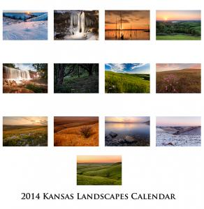 2014 Kansas Calendars For Sale